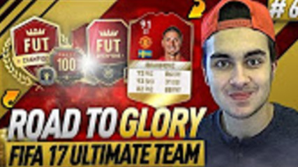 FIFA 17 ROAD TO GLORY 6 -FIRST FUT CHAMPIONS MATCHES - FIFA 17 ULTIMATE TEAM