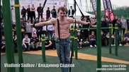 16 годишно момче си показва уменията на лоста - Владимир Садков