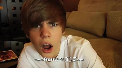 Justin Bieber и Котка (смях)