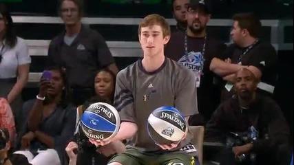 Буквално невиждaн кош! Slam Dunk Contest 2012