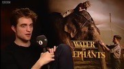 Rob's interview with Edith Bowman