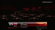 Евровизия 2012 - Албания | Rona Nishliu - Suus [първи полуфинал]