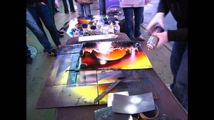 Spray paint art from New York