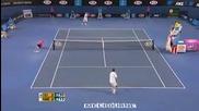 Australian open 2010 : Томик - Чилич