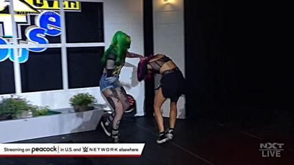 Shotzi Blackheart returns to fight off Dakota Kai: NXT TakeOver: In Your (WWE Network Exclusive)