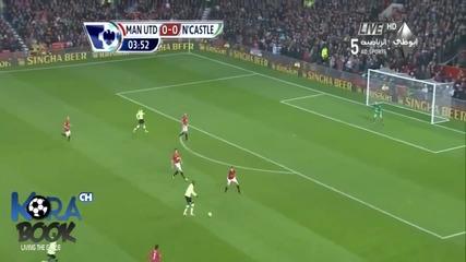 Мача на Сезона ! Ман Юнайтед - Нюкясъл 4-3