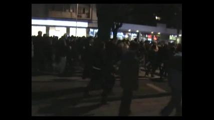 Протест срещу високите сметки за ток - Варна - 18.02.2013 година