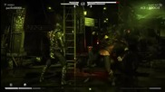 Mortal Kombat X - Reptile vs. Liu-kang