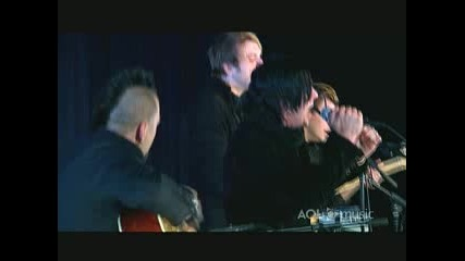 Three Days Grace - Pain (Аcoustic at AOL)