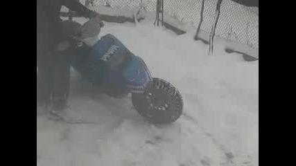 метод за чистене на сняг