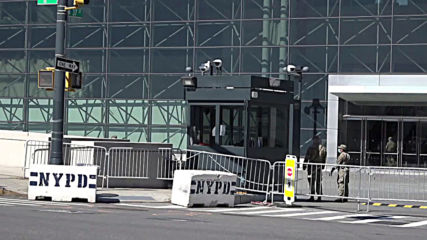 USA: Military doctors deployed to Javits Center field hospital in NYC
