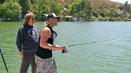 A special Mizanin fishing outing with Dolph Ziggler: Miz & Mrs., May 10, 2021