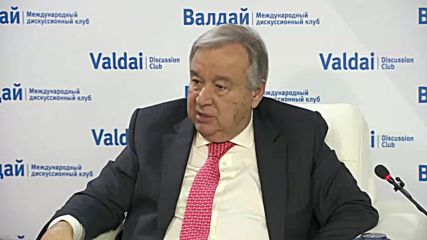 Russia: 'No Plan B' - UN's Guterres calls for two-state solution for Israel, Palestine