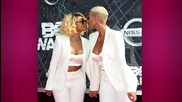 Amber Rose and Blac Chyna Share Steamy Kiss to Honor Marriage Equality