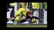 Един Бразилски Вратар Усмива Милан