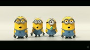 Дребосъците Отново Тук .. Despicable Me 2   Minions Banana Song