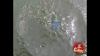 Езерното чудовище - Скрита камера