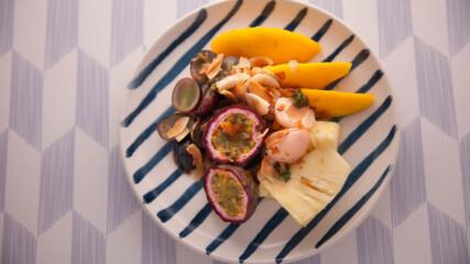 Плодова салата с джинджифил и тамаринд | Джъстин Скофийлд | 24Kitchen Bulgaria