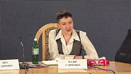 Ukraine: 'If you want me to be president, I will be president' - Savchenko