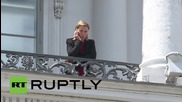 Austria: EU's Mogherini paces around balcony as Iran talks continue