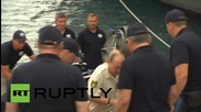 Russia: Underwater Govt? Medvedev surprises Putin at bottom of Black Sea