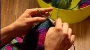 Как се плете чанта за пазаруване