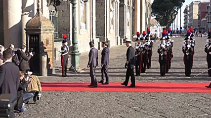 Italy: Conte hosts Macron in Naples for Italy-France Summit