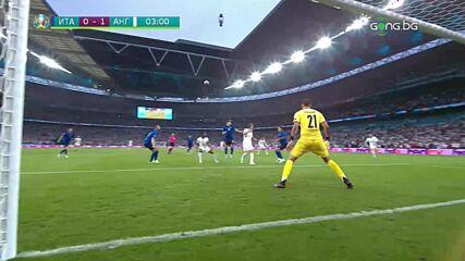 Голът на Люк Шоу срещу Италия