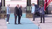 Turkey: Erdogan welcomes Iraqi PM Al-Mahdi in Ankara