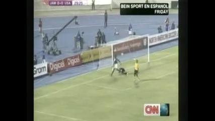 САЩ победиха като гост Ямайка с 2:1 запазиха шансове за Мондиал 2014