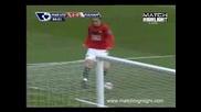 Манчестър Юнайтед 3 - 0 Фулам Гол на Уейн Руни
