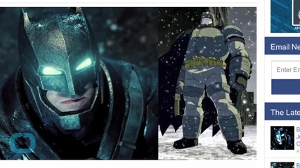 Batman V Superman: Dawn of Justice's The Dark Knight Returns Connections