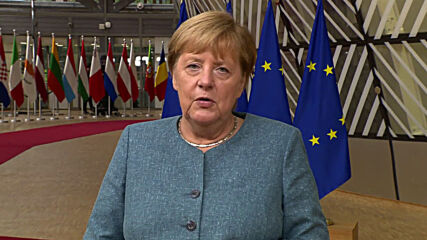 Belgium: Merkel arrives for first day of special EU summit in Brussels