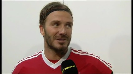 David Beckham's All Star Match for Children part 2