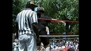 Wrestling - Edge (adam Copeland) In His Early Career - Blindfold Match, 1993