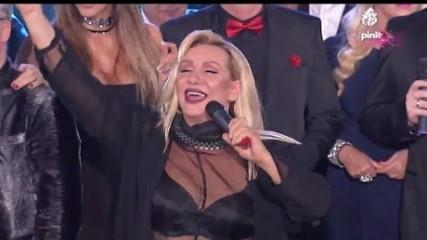 Vesna Zmijanac - Ponovi za mnom - Pinkovo novogodisnje veselje - (TV Pink 31.12.2016)