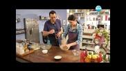 Козуначено руло, агнешко бутче с лайм, пресни картофи на фурна - Бон Апети (30.04.2013)