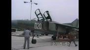 Полет с Миг-23уб в Чешнегирово