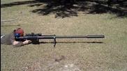 една наистина голяма пушка Three shots with the Anzio 20mm