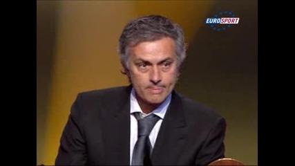 Жозе Моуриньо стана треньор на 2010 !