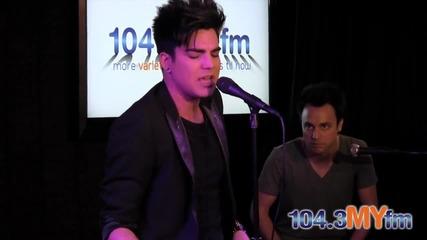 Adam Lambert - Trespassing - Live (1043myfm)