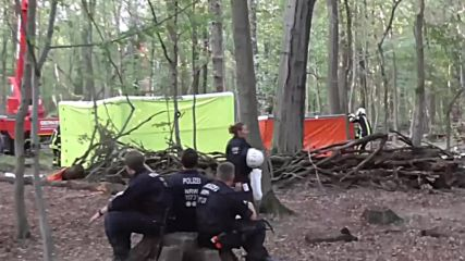 Germany: Police continue eviction of Hambach Forest activists