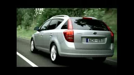 реклама на Kia ceed 2008