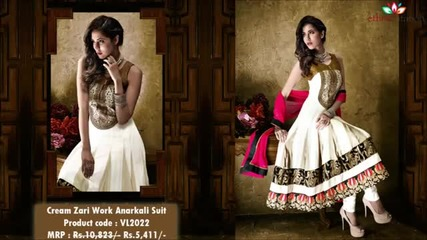 Where to Get the Best Anarkali Suits Collection in India?