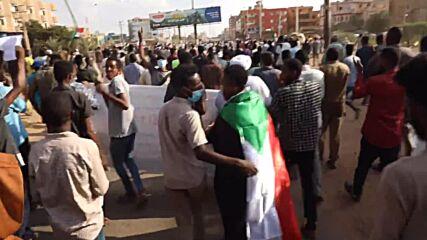 Sudan: Thousands protest against military rule prospect in Khartoum