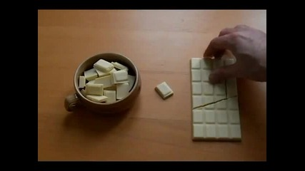 Интересен трик с шоколад