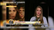 Cara Delivingne ROASTED on Good Day Sacramento