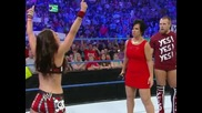 Aj will be the guest referee at Money in the bank [ Wwe Smackdown 29.6.12 ]