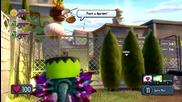 растения срещу зомбита градинска война-garlic drone+heal flower