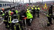 Влак дерайлира край Милано, има жертви